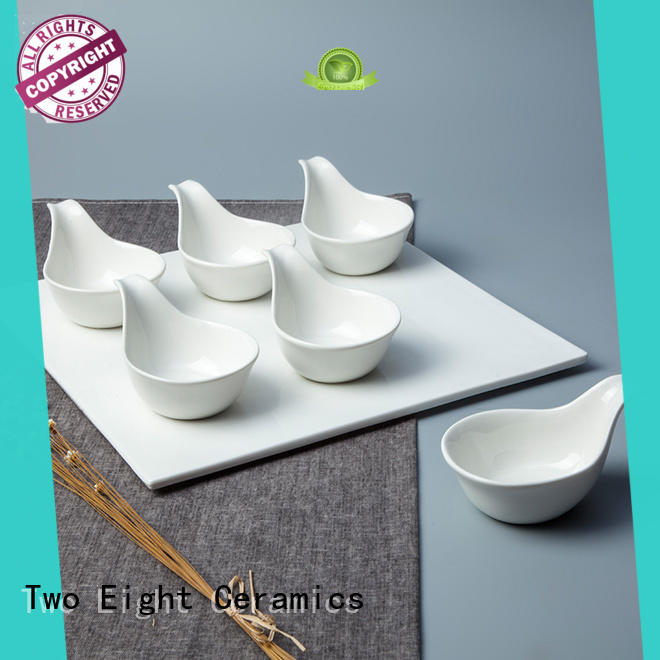 Royalty Style Porcelain Dinnerware Accessories for Restaurant - TA03