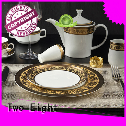 Two Eight mixed crockery unit design wholesale for bistro