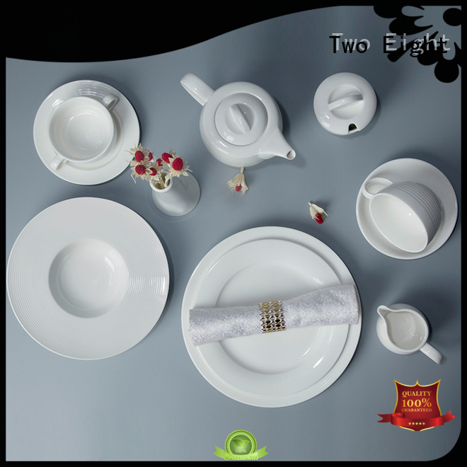 classic white dinnerware sets bulk for dinner Two Eight