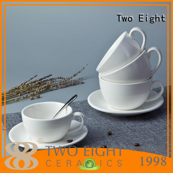rim porcelain dinnerware silver for hotel Two Eight