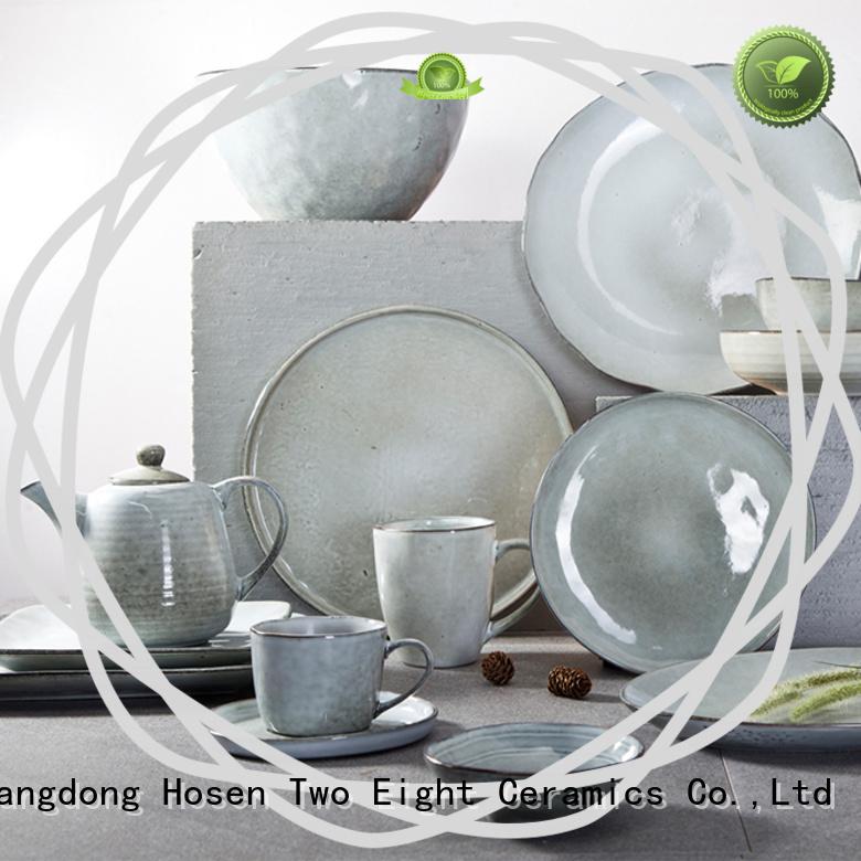 Two Eight vintage porcelain dinnerware set manufacturer for kitchen