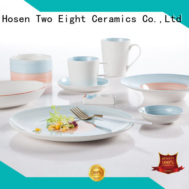 Two Eight classic hotel crockery suppliers customized for home